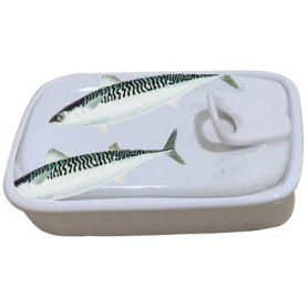 terrina cerámica pescado