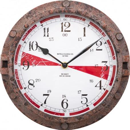 copy of Reloj de pared náutico con rosa de los vientos