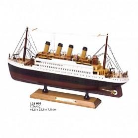 Maqueta del buque de vapor transatlántico Titanic