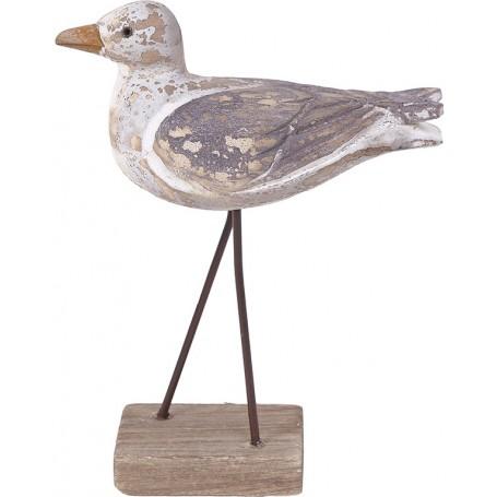 decoración marinera pájaro