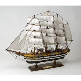 Maqueta naval velero buque escuela italiano Amerigo Vespucci