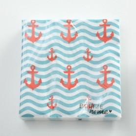 Servilletas  de papel onduladas