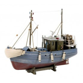 Maqueta de barco pesquero del norte