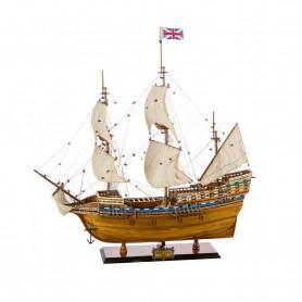 copy of Maqueta naval artesanal  del buque francés le Soleil Royal