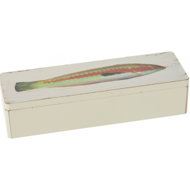 Caja de madera pez julivia