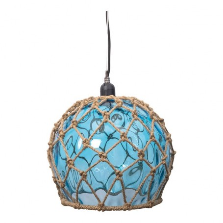 Lámpara marinera boya cristal