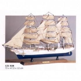 Maqueta naval buque escuela Christian Radich