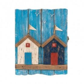 Armario náutico portallaves madera