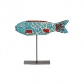 Figura pez marinero de madera