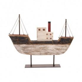 Figura barco de madera marinera