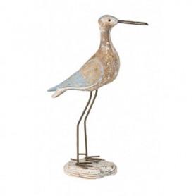 pájaro marino de madera