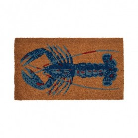 Felpudo alfombra langosta fibra natural