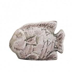 Figura decorativa pez en cerámica