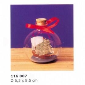 Velero bergantín en botella