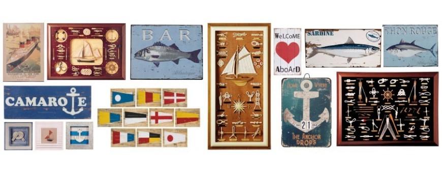 cuadros náuticos marineros
