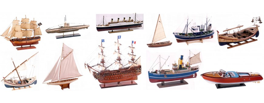 maquetas navales montadas veleros competicion galeones pesqueros atuneros comprar online