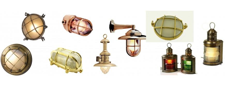 Apliques náuticos y lámparas