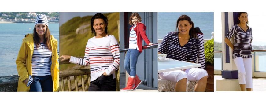 Moda náutica para mujer