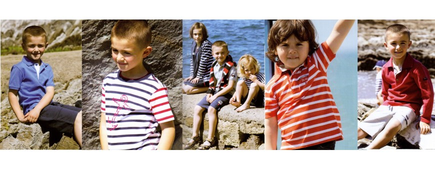Moda náutica para niños