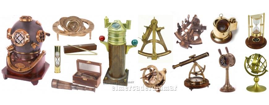 Instrumentos marinos decorativos