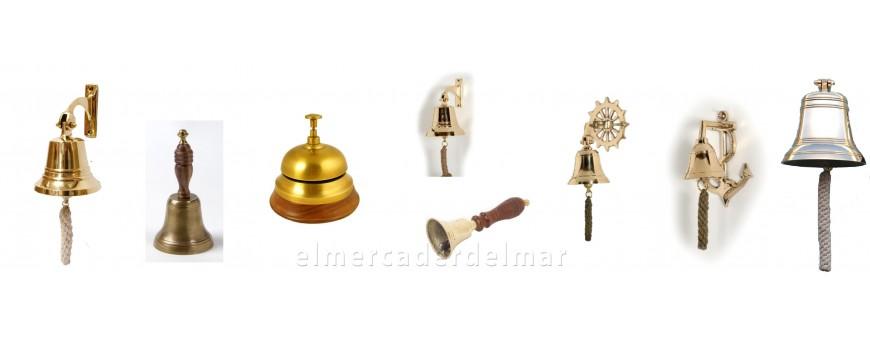 Campanas de barco para señales acústicas y decoración náutica