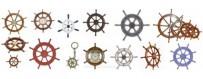 Timones decoración náutica y marinera comprar online  ruedas de timon