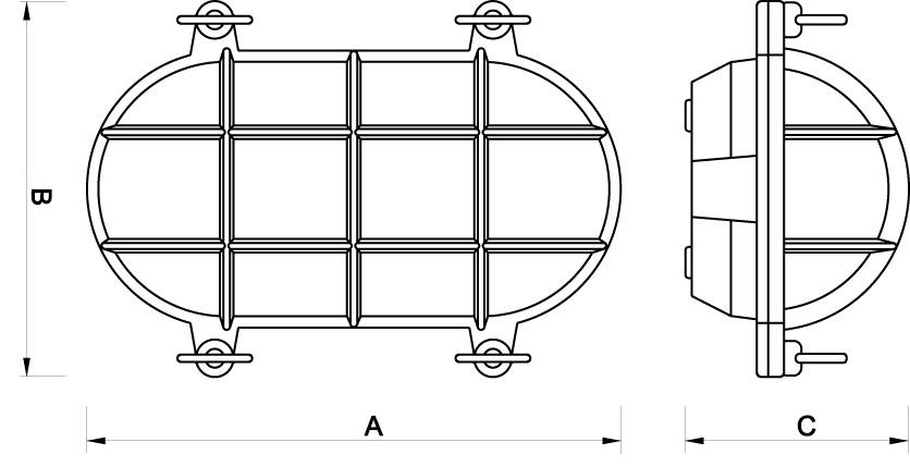 Lámpara marinera para decoración náutica
